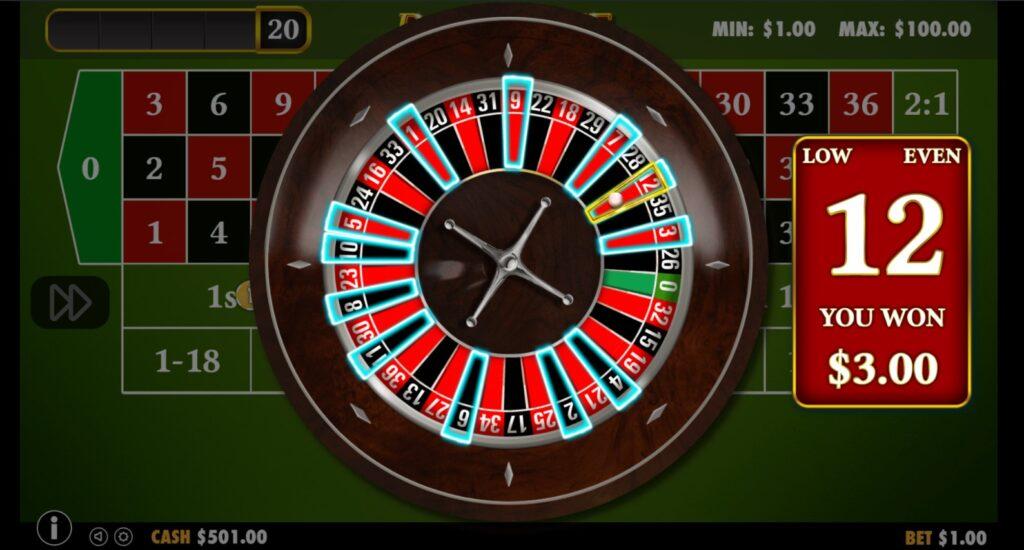 Bondibet casino roulette