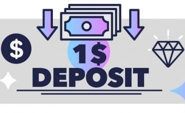 1$ Minimum Deposit Casino Games
