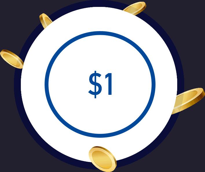 1 Dollar Deposit Casino
